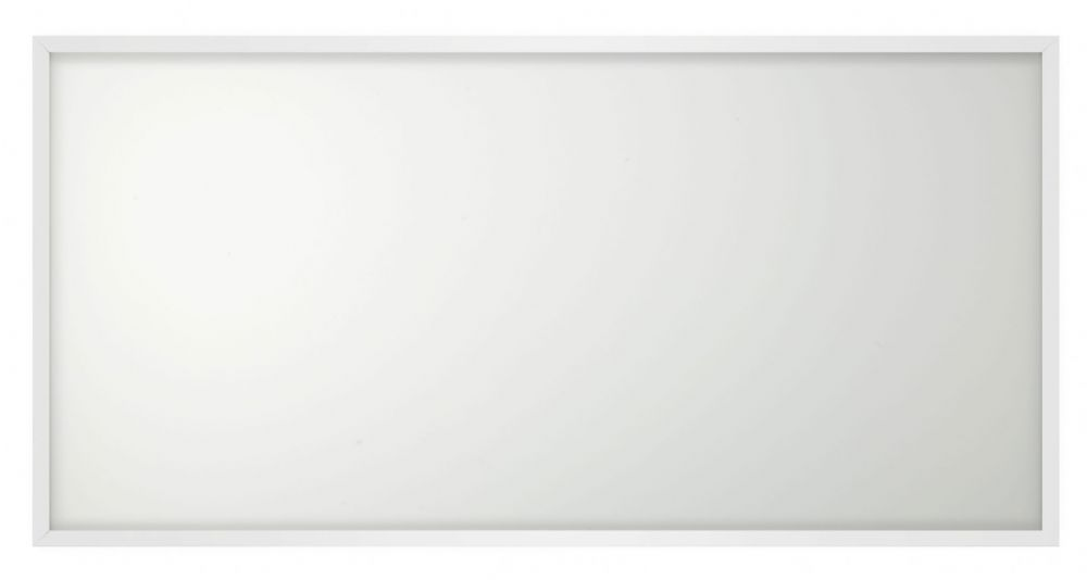 Bell Lighting 09999 58W Arial LED Panel - 1200x600mm, 4000K, White Rim, Emergency, Dali Dimmable